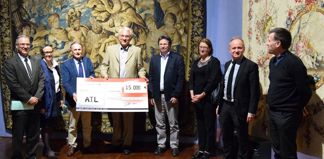 L'entreprise ATL mécène de la Cité internationale de la tapisserie