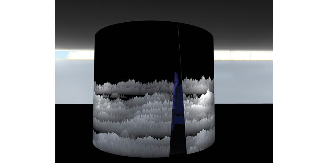 Panoramique polyphonique, Cécile Le Talec, Grand prix 2011, maquette numérique