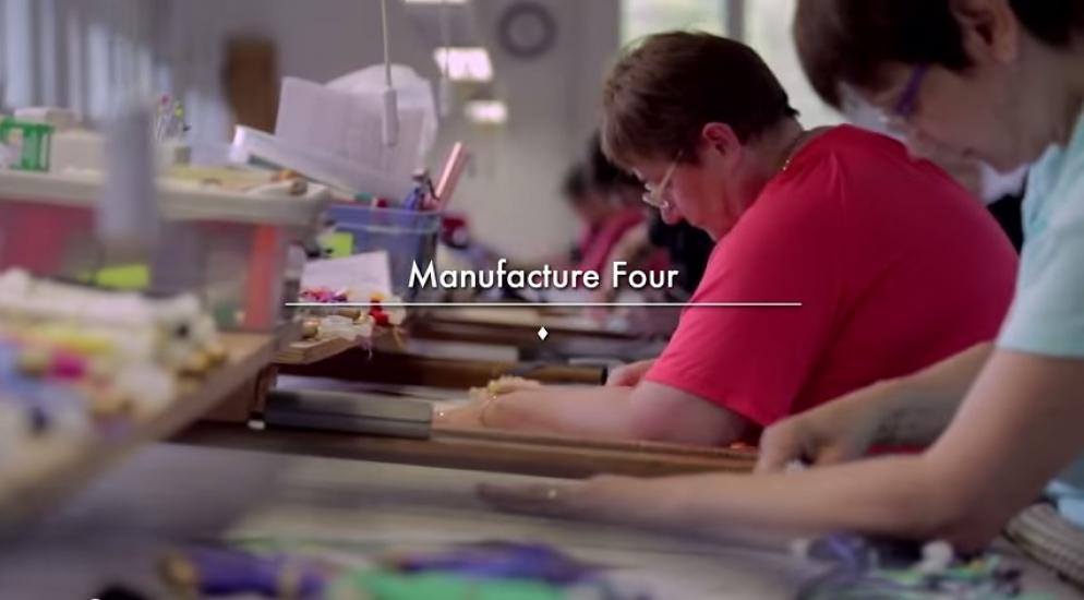 La Cité de la Tapisserie 1/3 - Manufacture Four