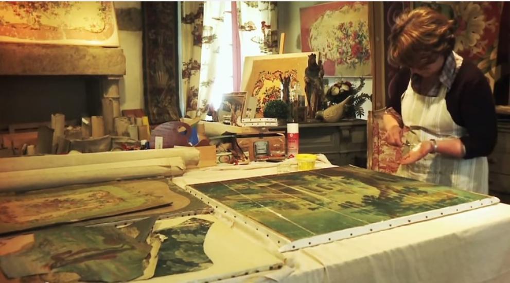 La Mémoire des peintres cartonniers à Aubusson dans la Creuse