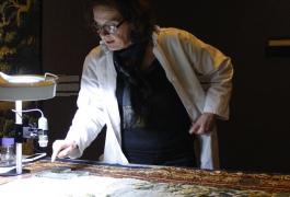 Susanne Cussell-Bouret, restauratrice du Patrimoine