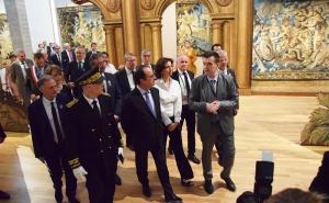 La Cité internationale de la tapisserie inaugurée par François Hollande