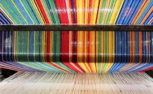 La Manufacture Royale du Parc crée une moquette de prestige aux couleurs de la Cité de la tapisserie
