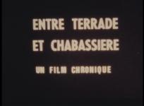 Collecte de témoignages concernant les quartiers de la Terrade et de Chabassière à Aubusson. Réal. P. Cazals, 1981, 35 min.