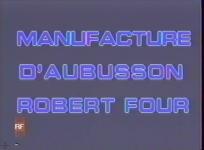 Texte dit par Michel Hervé - Réal. Fréderic Four - Prod. Transfert vidéo reportage, 1989, 12 min. Tout le processus de fabrication d'une tapisserie d'Aubusson