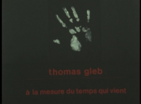 Documentaire monographique issu d'un entretien avec Thomas Gleb. Réal. Michel Dieuzaide, 1986, 25 min.