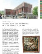 Ouverture de la Cité internationale de la tapisserie à l'été 2016