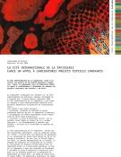 Appel à candidatures projets textiles innovants - communiqué