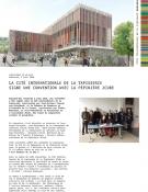 La Cité internationale de la tapisserie signe une convention avec la pépinière 2Cube - communiqué