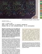 Anne-Laure Sacriste et Raphaël Barontini primés par la Cité internationale de la tapisserie